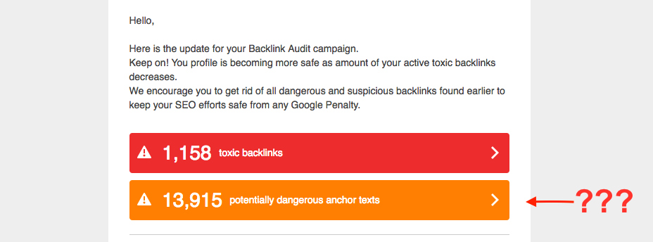 About Anchor Texts in Backlink Audit image 1