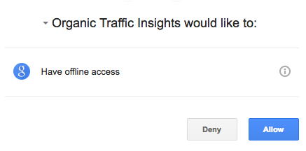 Configuring Organic Traffic Insights image 3