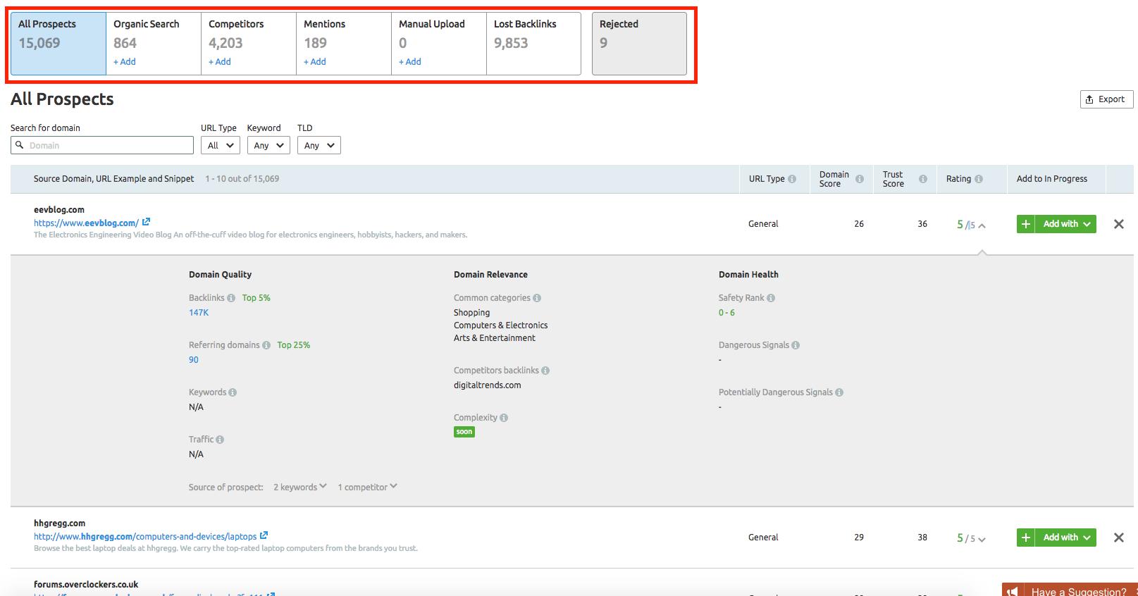 Determining Your Prospective Backlinks image 2