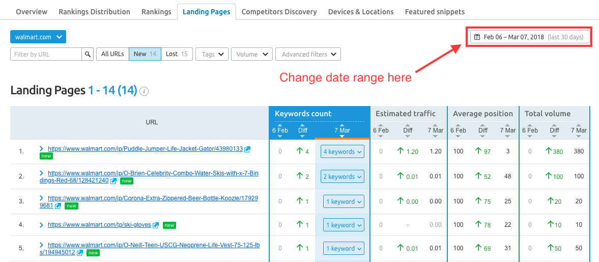 Position Tracking Landing Pages image 6