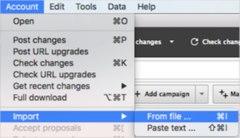 Uploading Display Ads to Adwords Editor