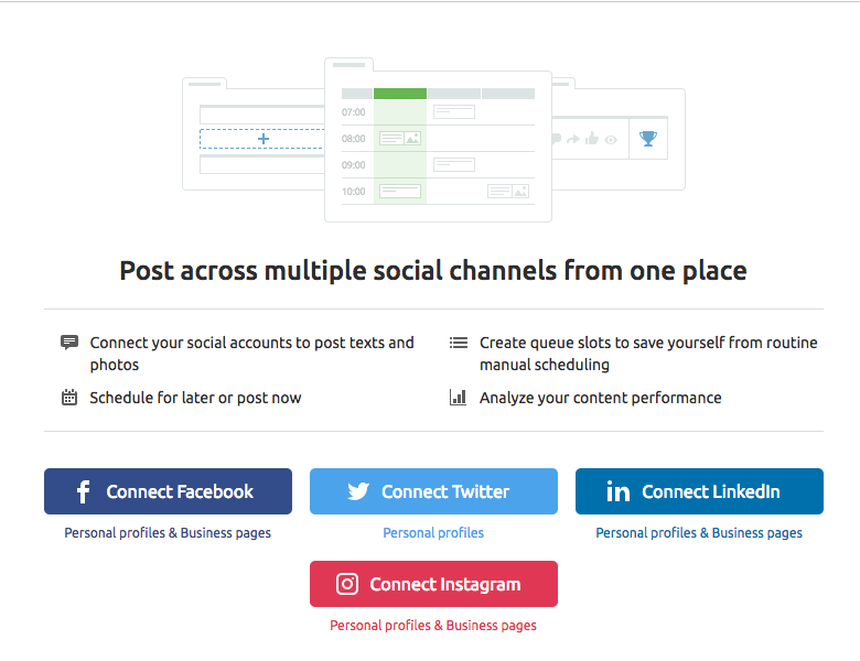 Configuring Social Media Poster image 1