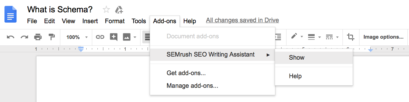 Run SEO Writing Assistant