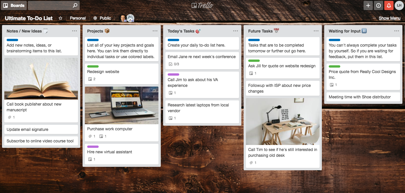 sample-trello-board