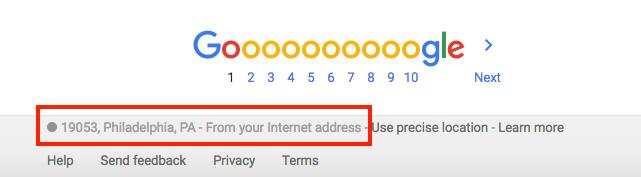 location-on-google