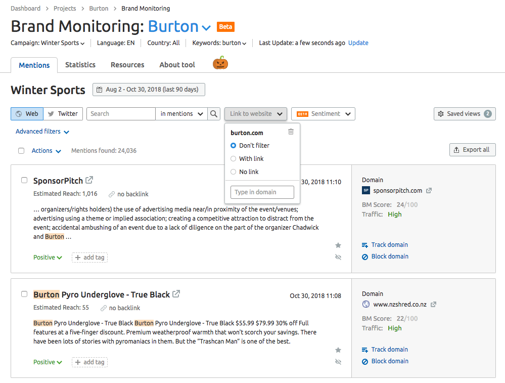 Brand Monitoring Mentions Feed image 8