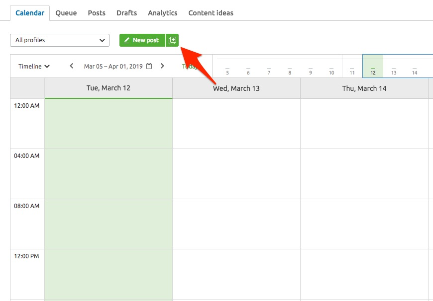 Planning Your Posts in an Interactive Calendar image 6