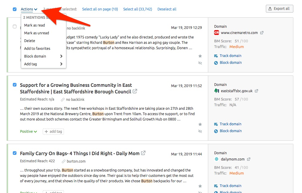 Brand Monitoring Mentions Feed image 2