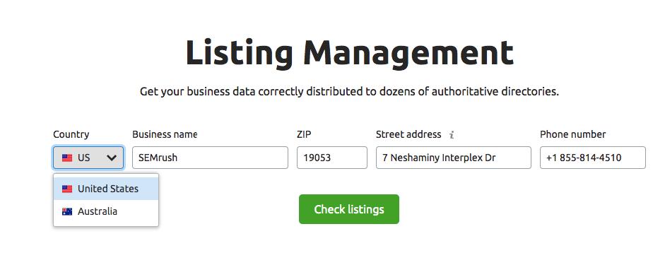 Listing Management image 1