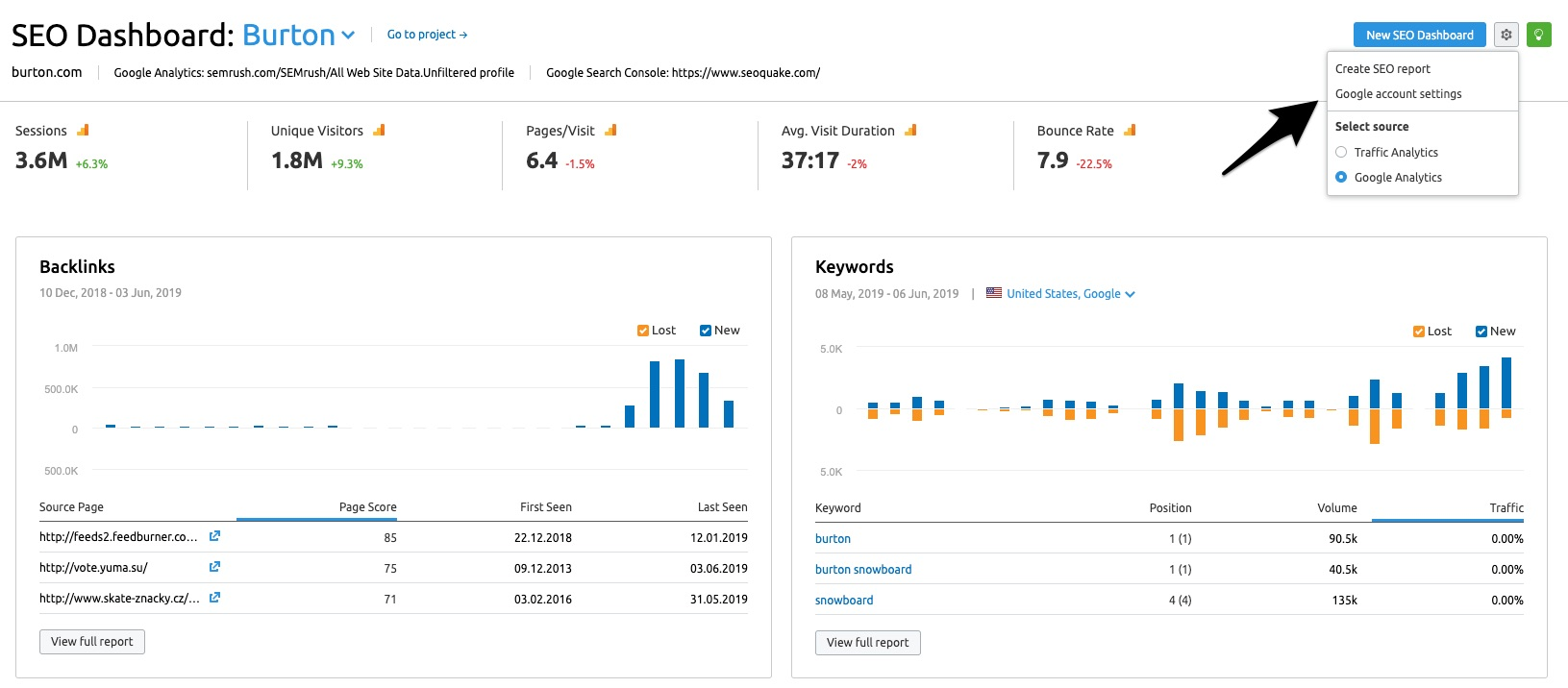 SEO Dashboard image 4