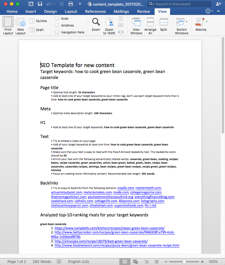 SEO Content Template image 6