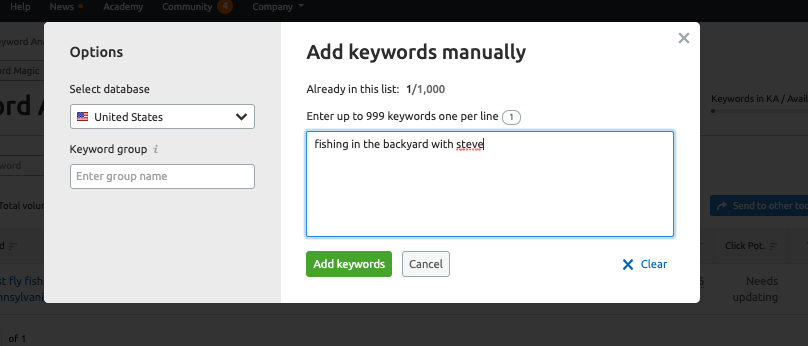 How to Use the Keyword Magic Tool image 8