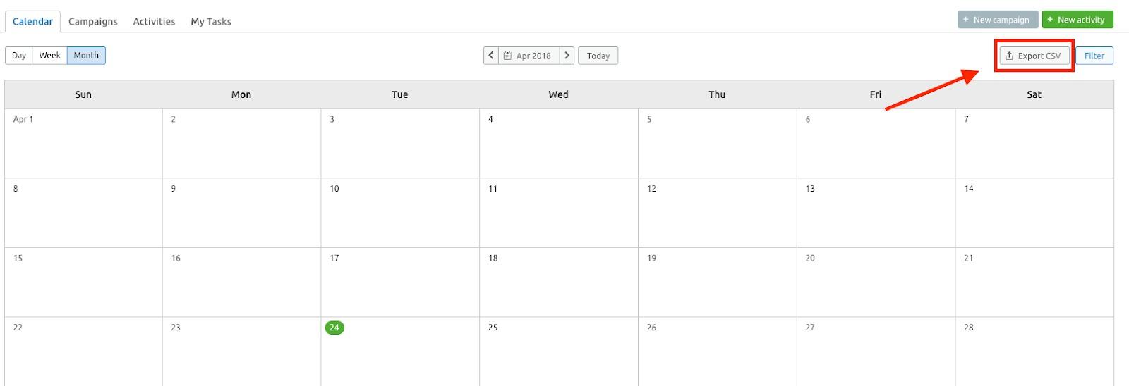 マーケティングカレンダー image 10