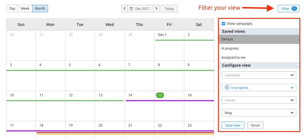 マーケティングカレンダー image 2