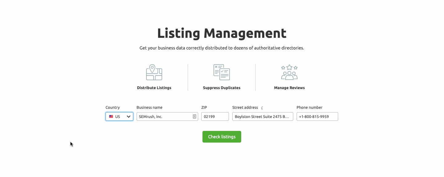Listing Management image 1