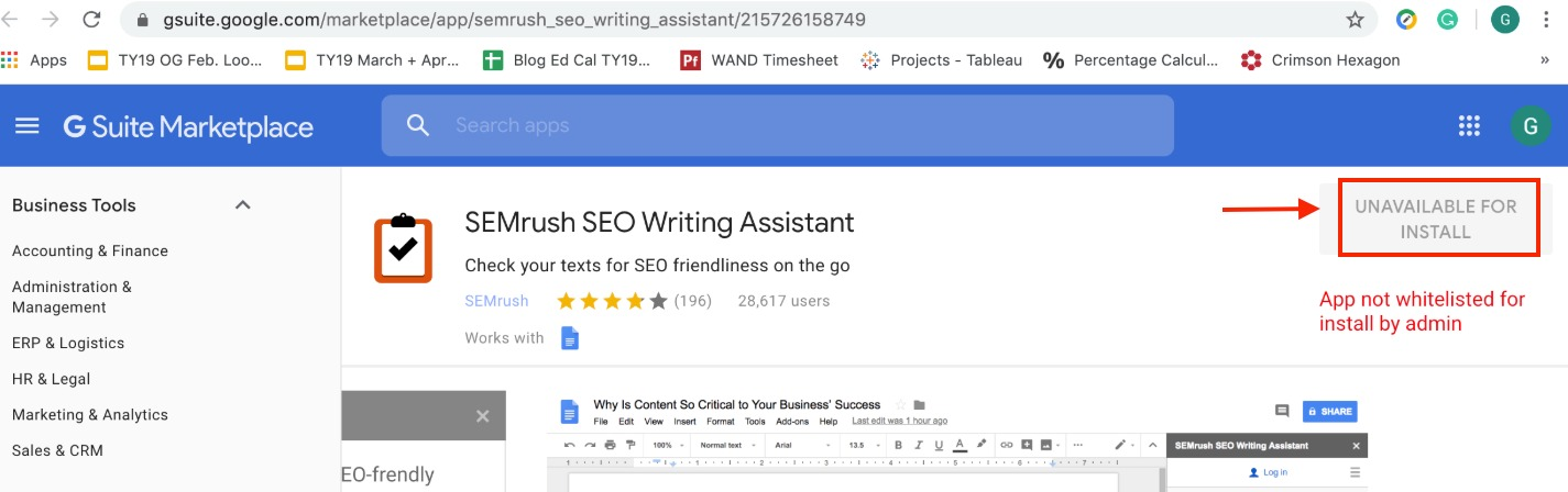 Troubleshooting SEO Writing Assistant image 3