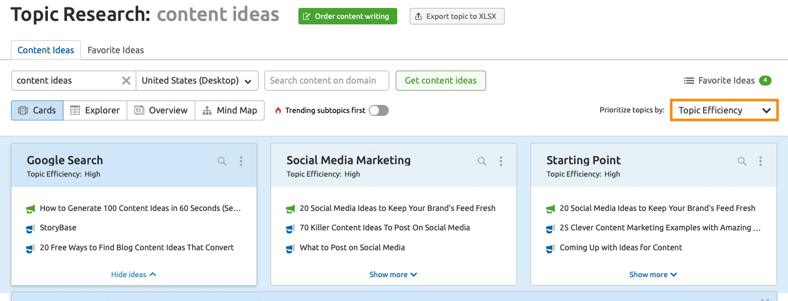 How to Find Relevant Topics with Good SEO Potential image 1