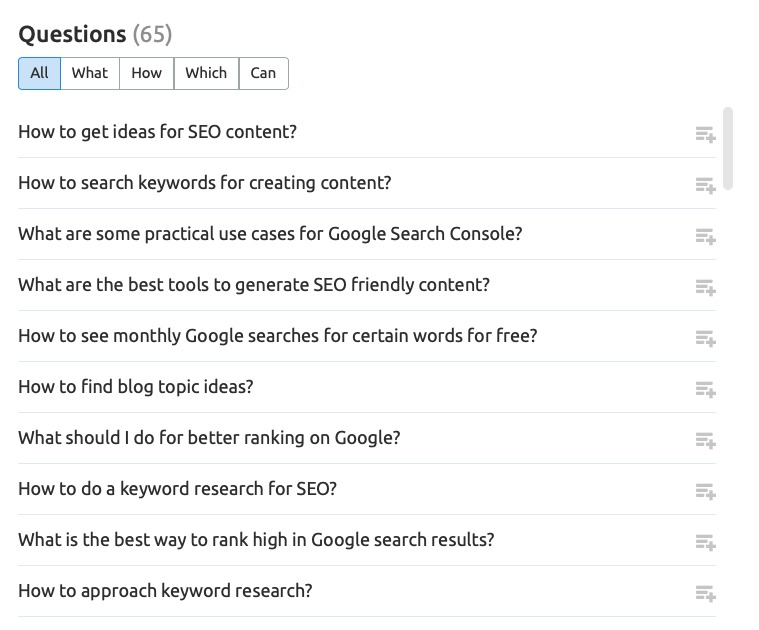 How to Find the Most Popular Questions for Your Content image 1