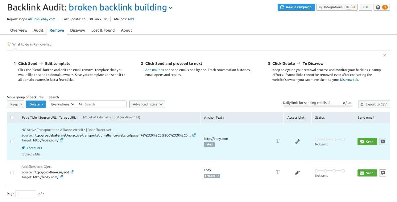 Cómo encontrar los backlinks rotos de un competidor image 3