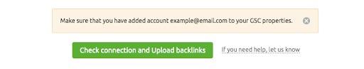 Cómo conectar Backlink Audit con las cuentas de Google image 9